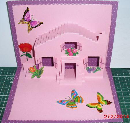 De kaartenbak - Popup huis ...